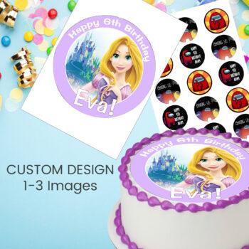 Custom Edible Print 1-3 Images