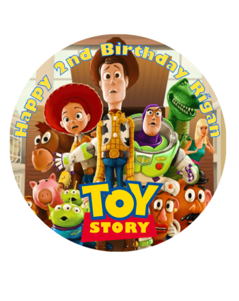 Toy Story Edible Cake Topper