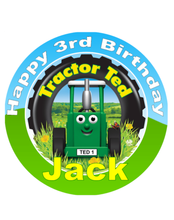 Tractor Ted Cake Topper