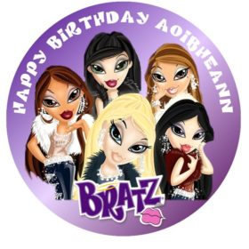 Bratz Edible Cake Topper