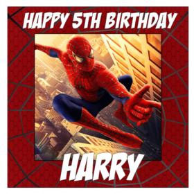 Spiderman Square