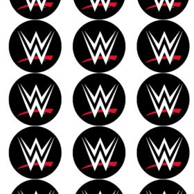 WWE Cupcake Toppers
