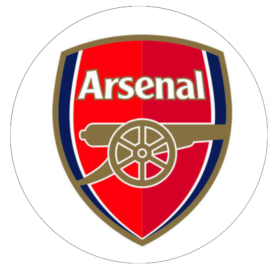 Arsenal Plain Round