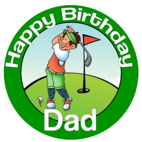 Golfer Topper