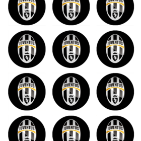 Juventus Cupcakes