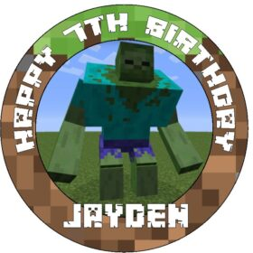 Minecraft Edible Picture Topper