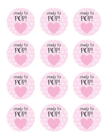 Baby Shower Edible Cake Toppers Girl