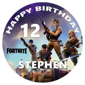 fortnite edible cake topper