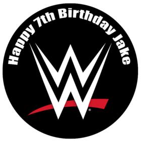 WWE Edible Cake Topper