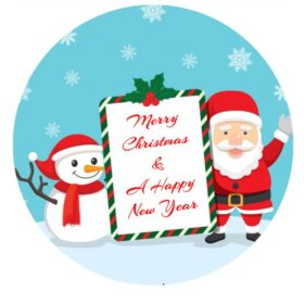 Christmas Edible Print