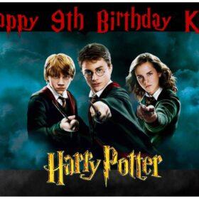 Harry Potter Edible Print A4