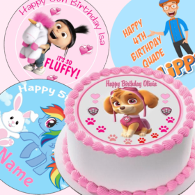 Kids Character Toppers