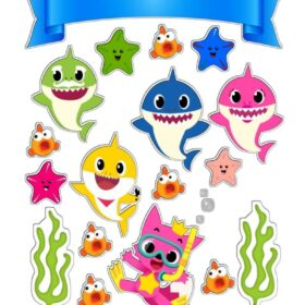 Baby Shark Cut Outs