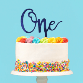 One cake topper