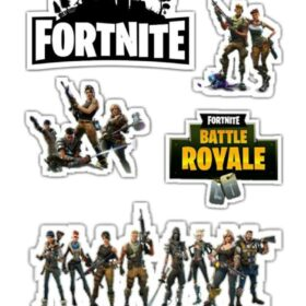 fortnite cut out toppers