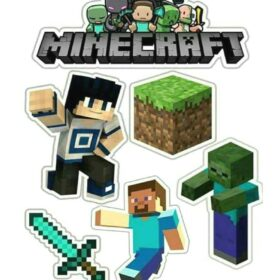 minecraft cut out