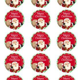 Christmas Edible Prints
