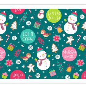 Christmas Edible Cake Print