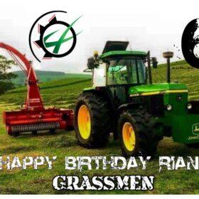Grassmen Edible Print A4