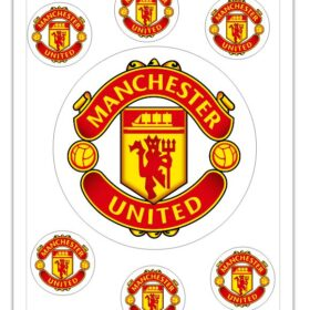 Manchester United Edible Prints