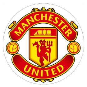 Manchester United Edible Print