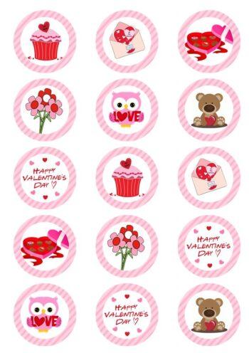Valentine Edible Prints