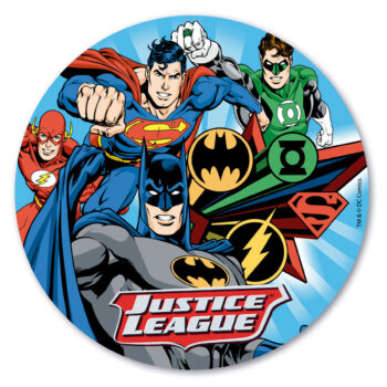 Justice League Edible Disc