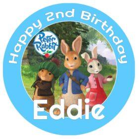 Peter Rabbit Edible Print