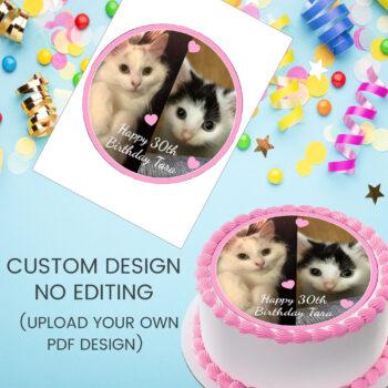 Custom Design No Editing