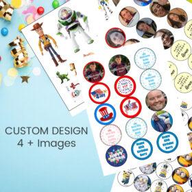Custom Print 4 plus Images