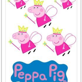 Peppa Edible Print