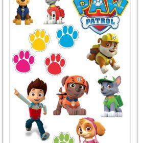 paw patrol edible print cut out