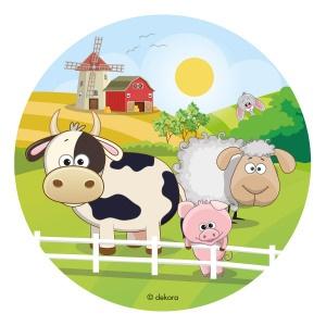 Farm Animals Edible Prints