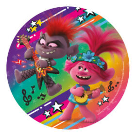 trolls edible wafer disc