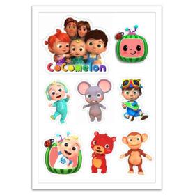 Cocomelon edible cutout prints