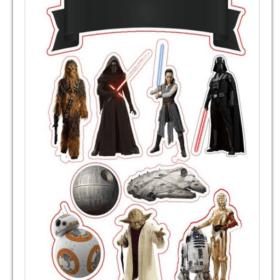 Star Wars Edible Print